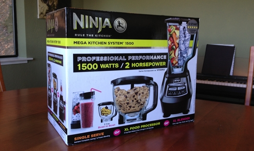 the Ninja master Kitchen System over the Vitamix?  The Ninja Kitchen